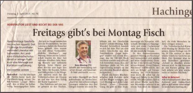 Erschienen im 'Münchner Merkur' vom 02.04.2013