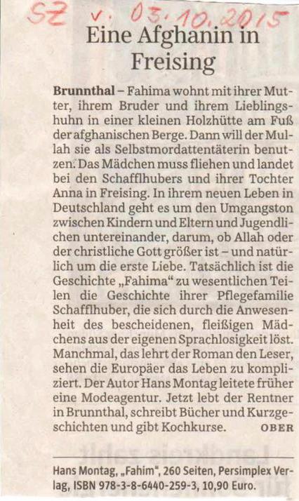 Zeitungsartikel 2